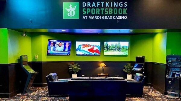 DraftKings sportsbook, Black Hawk, Colorado
