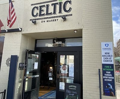 Cash at counter The Celtic on market