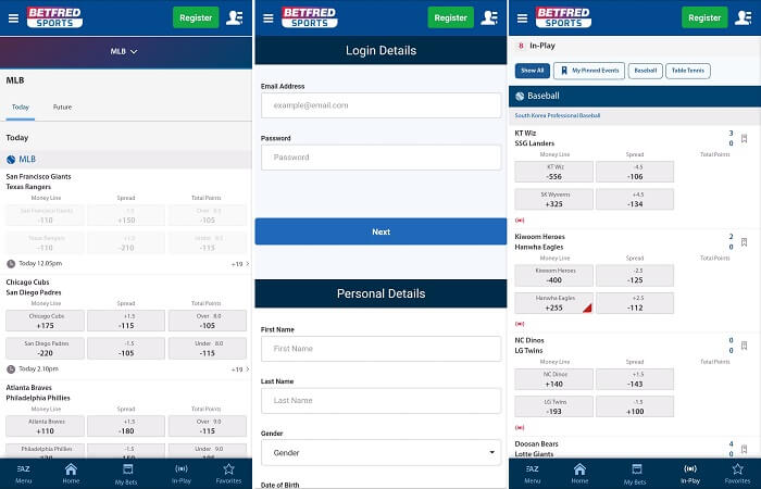 Betfred sports iPhone app