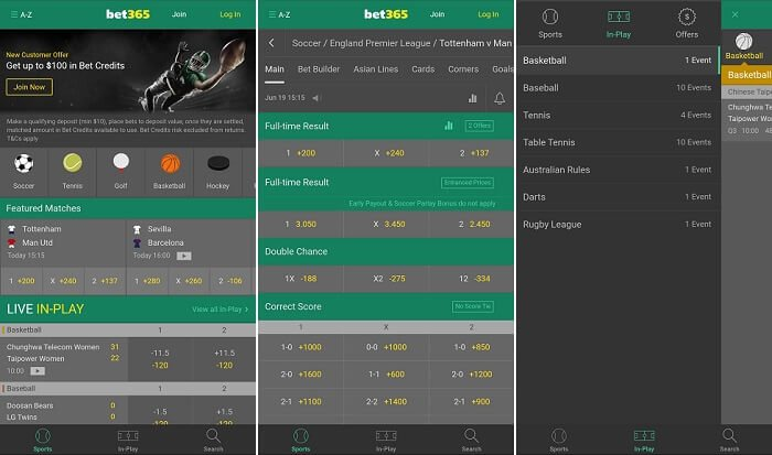 bet365 Colorado mobile app
