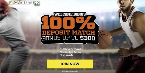 SportsBetting welcome bonus
