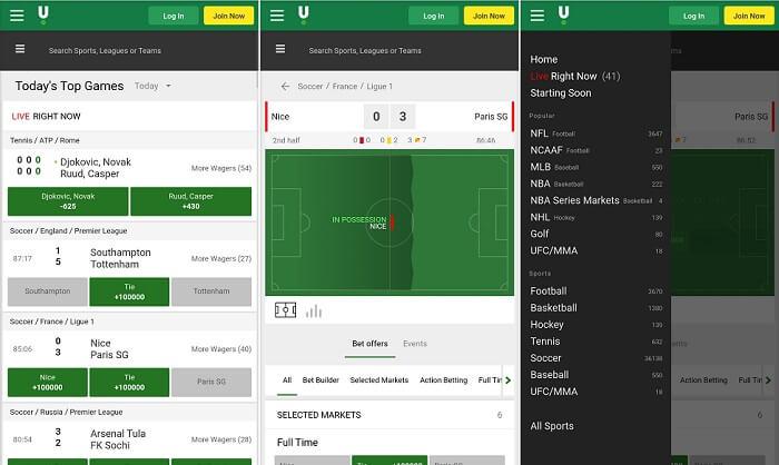 Unibet Sportsbook app