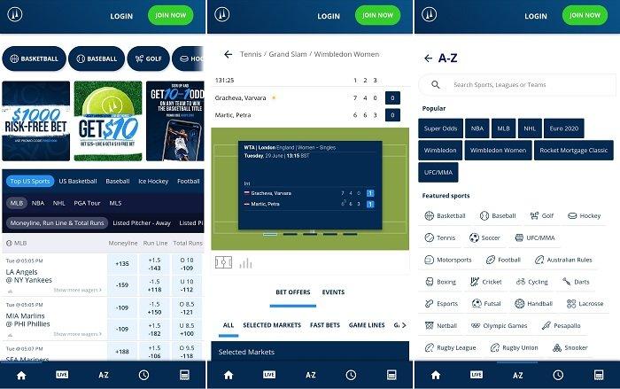 TwinSpires CO Sportsbook app