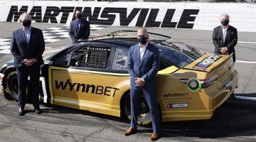 NASCAR betting data