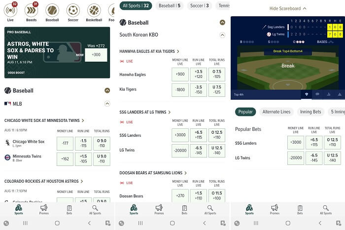 Caesars Sportsbook CO app