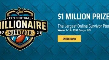 Pro Football Millionaire Survivor Pool DraftKings