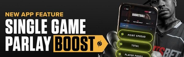 Parlay boost from PointsBet